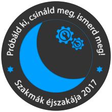 Szakmák Éjszakája 2017 logó