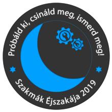 Szakmák Éjszakája 2019 logó